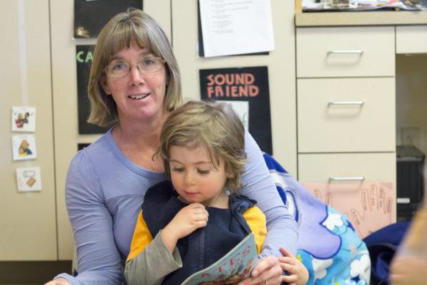 Patty George, Lead Teacher of the Blue Preschool Class (3 & 4 year olds)